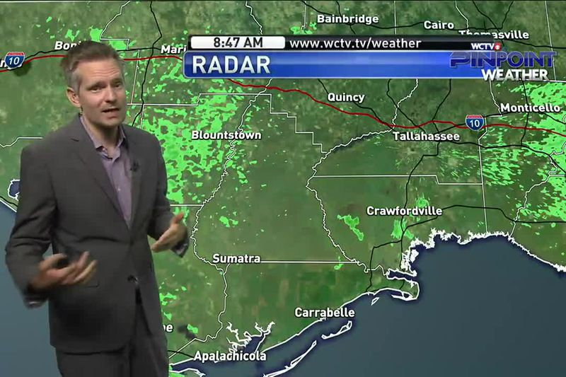 Some woke up to thunder Sunday morning, but could we see more in the afternoon? Meteorologist...