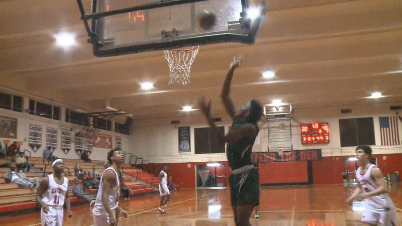 The Lincoln Trojans boys basketball team defeated the Leon Lions, 57-36, Wednesday night at...