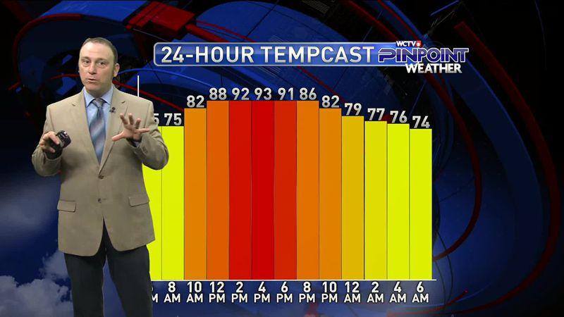 Rob's Thursday Morning Forecast: Sept. 3, 2020