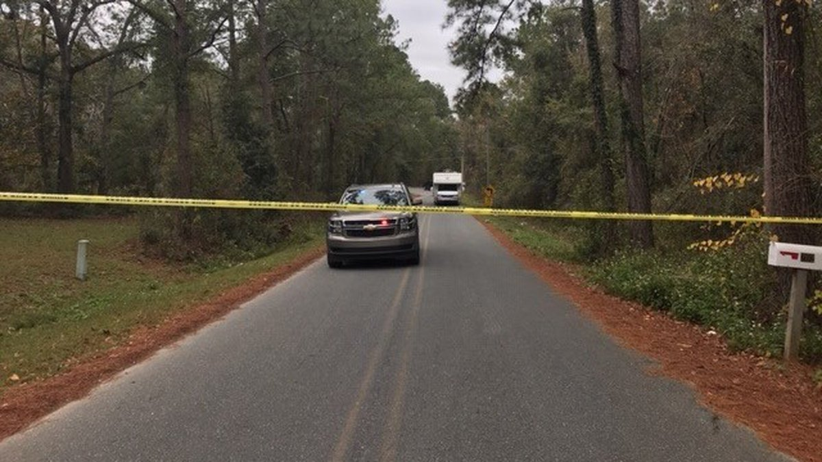 The Gadsden County Sheriff's Office says it found what appears to be human remains in a wooded...