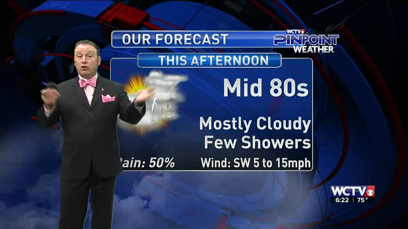 Meteorologist Rob Nucatola gives you the forecast for Friday, Oct. 8, 2021.