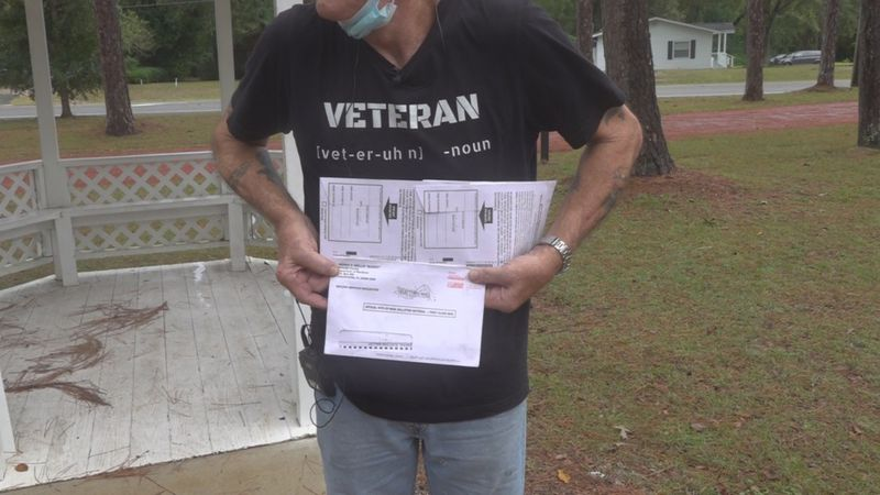 A Wakulla County voter shares both of his mailed ballots, confused why they arrived at his home...