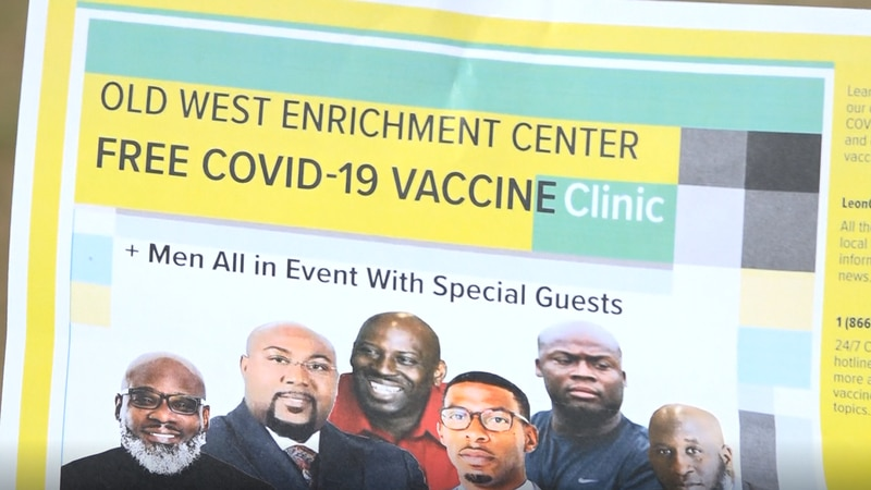 local pastors from around the community are pushing for men to get the COVID-19 vaccine.