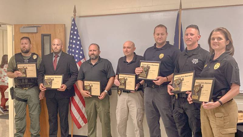 The Valdosta Police Department (VPD) honored 34 personnel during a service and department...