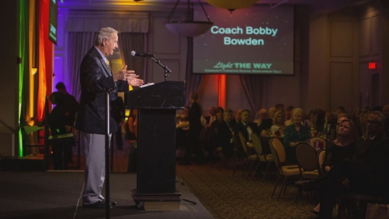 Faith was at the center of Bobby Bowden's life and he gave back to faith-based organizations...