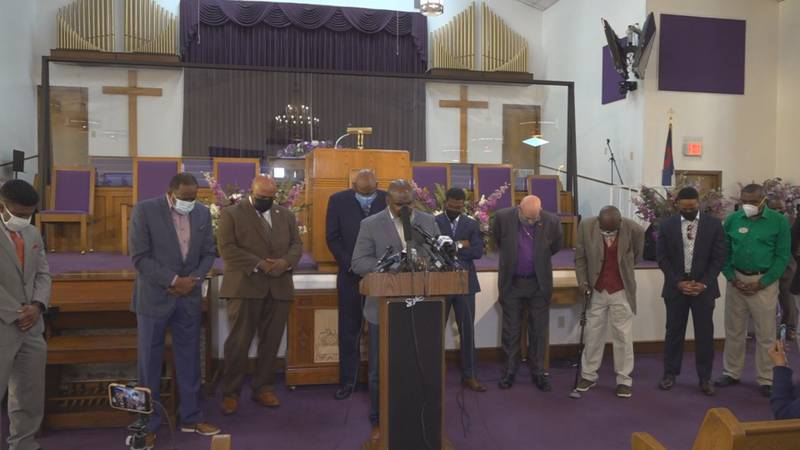 Faith leaders in Tallahassee gathered Tuesday to criticize pandemic policy from the state's...