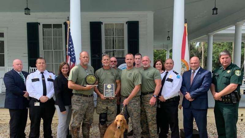 The Mayo Correctional Institution K-9 team has been recognized as the winner of the Florida...