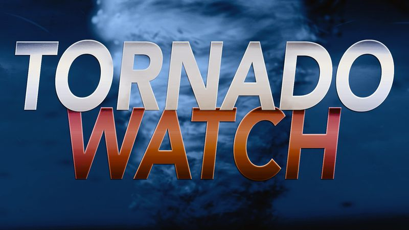 The National Weather Service has issued a tornado watch for several Big Bend and South Georgia...