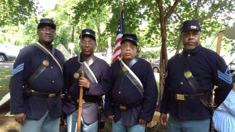 History comes to life with drive-thru living history festival