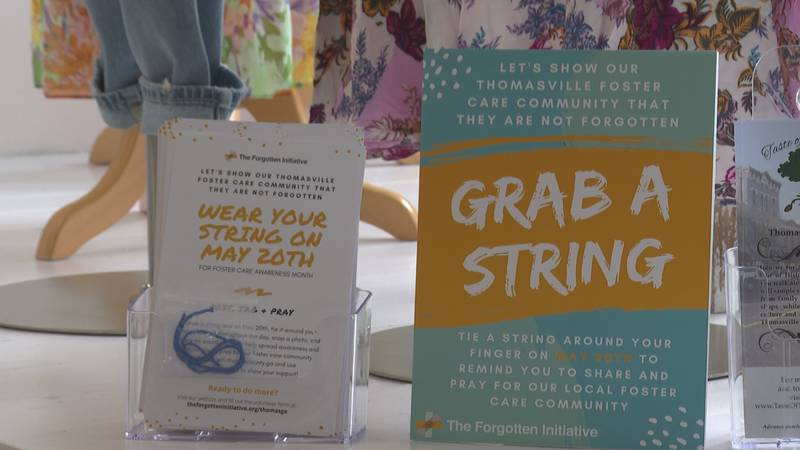 The Forgotten Initiative is asking the people of Thomas County to grab a string for foster care...