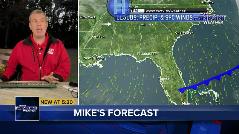 Chief Meteorologist Mike McCall has your forecast.
