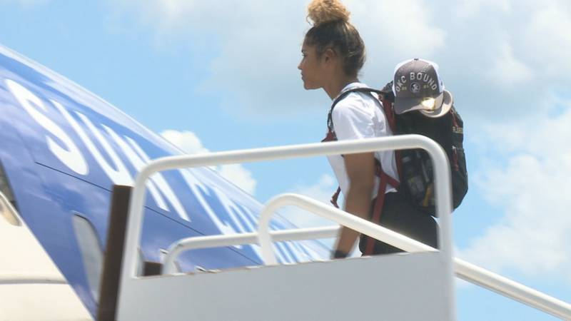 Tuesday at Million Air Tallahassee, Florida State softball went wheels up on their way to the...