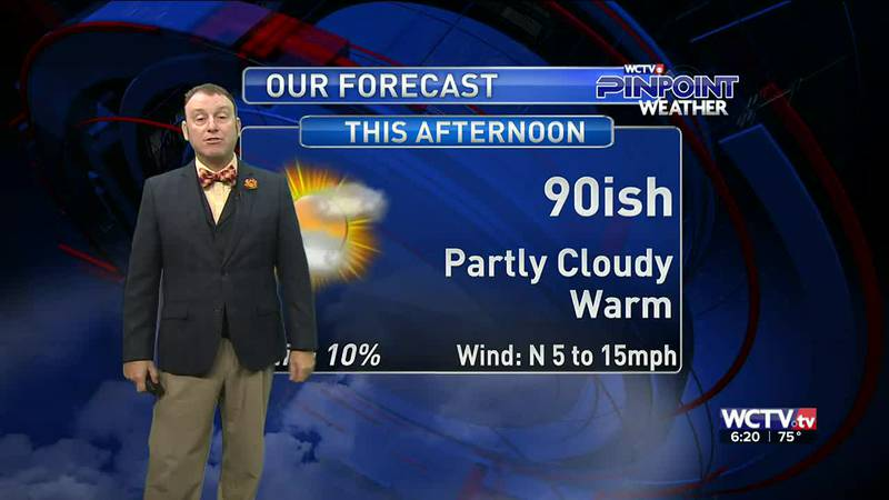 Meteorologist Rob Nucatola gives you the forecast for Friday, Sept. 10, 2021.