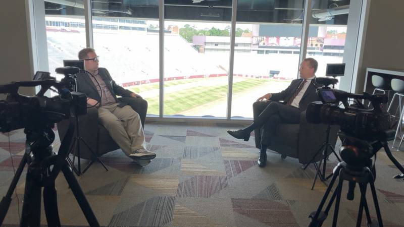 Sports Director Ryan Kelly sits down with first-year Seminole Boosters CEO Michael Alford for a...