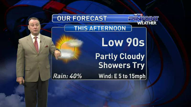 Meteorologist Rob Nucatola gives you the forecast for Thursday, August 26, 2021.
