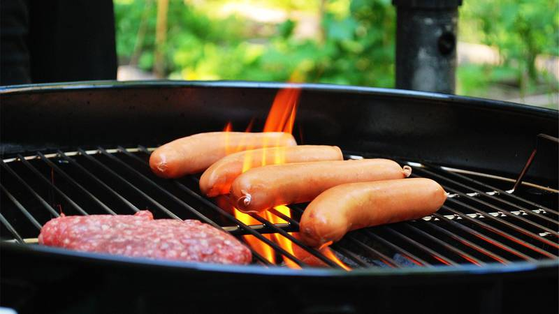 If you're planning to pop out the propane grill anytime soon, bring those cleaning supplies too!