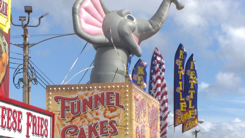"""Beginning Friday through Sunday, the North Florida Fairgrounds are open for a """"Carnival Food..."""