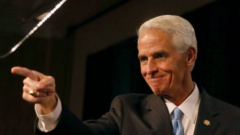 SAINT PETERSBURG, FL - NOV. 4:  Former Florida Governor and now Democratic gubernatorial...