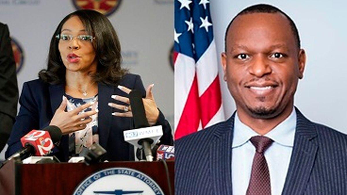State Sen. Randolph Bracy (right), D-Ocoee, and former Central Florida State Attorney Aramis...