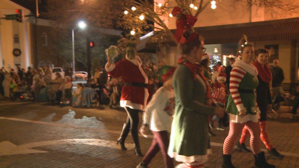 2020 Thomasvulle Georgia Christmas Parade Shiver and Be Merry: Thomasville Christmas Parade sparkles despite