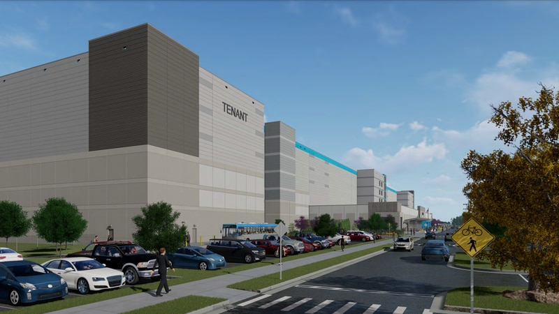 Leon County is reviewing plans to build a huge retail warehouse near the intersection of Mahan...