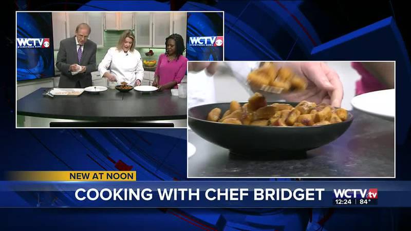 Keiser University's Bridget Baxley joined the WCTV set to showcase this gnocchi recipe!