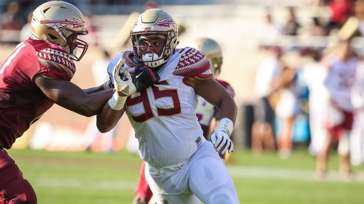 Florida State redshirt sophomore defensive end Jamarcus Chatman is sitting out the 2020 season due to the COVID-19 pandemic, FSU announced in a statement.
