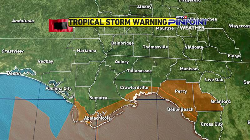 Meteorologist Charles Roop has a brief update on Tropical Storm Mindy as it moved quickly...