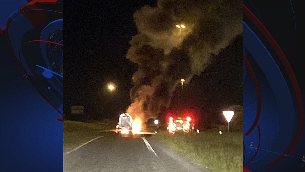 The Florida Highway Patrol responded to a semi-truck fire in Jackson County Wednesday evening,...