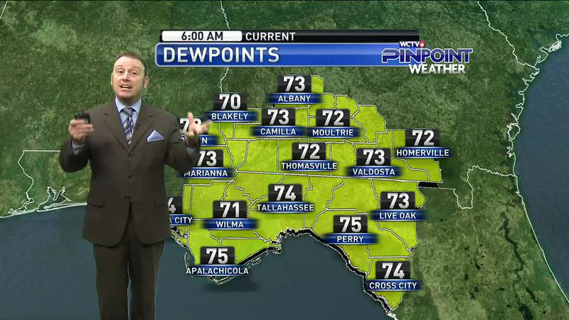 Meteorologist Rob Nucatola gives you the forecast for Tuesday, August 3, 2021.