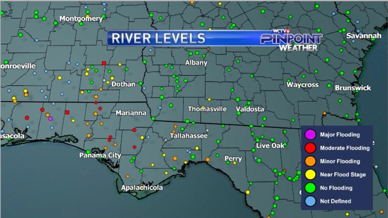 Big Bend & South Georgia River Levels