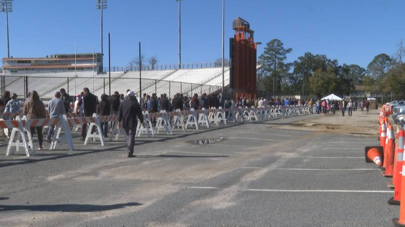 A new vendor will be operating the COVID-19 testing site located at the Bragg Memorial Stadium...