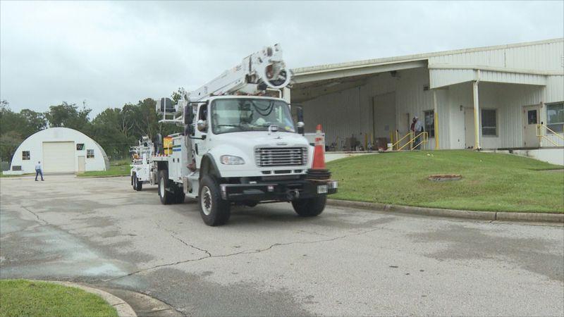 Talquin Electric sends crews to Escambia
