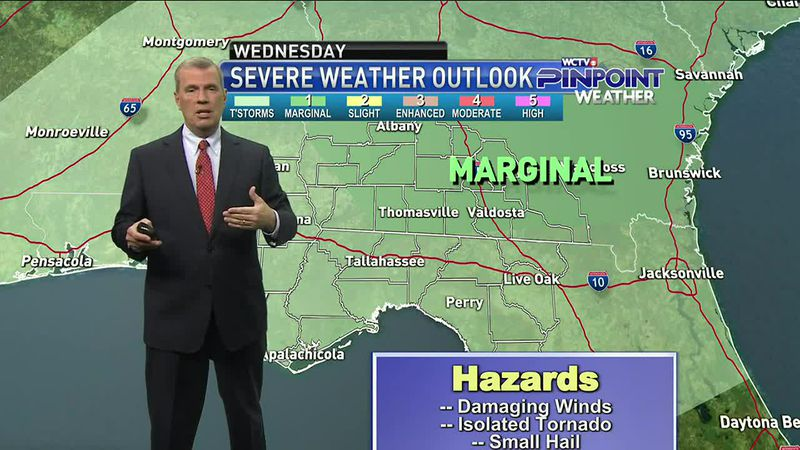 Chief Meteorologist Mike McCall has your forecast along with details on the threat of stronger...