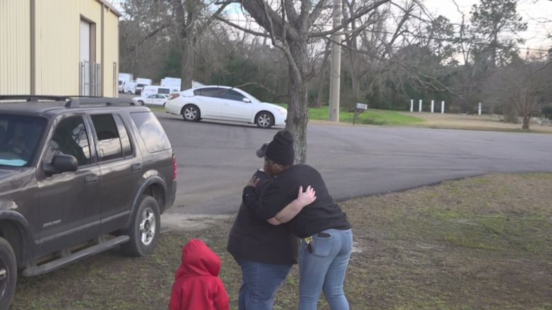 A Thomasville mom meets the woman who found her son alone along the side of a road.