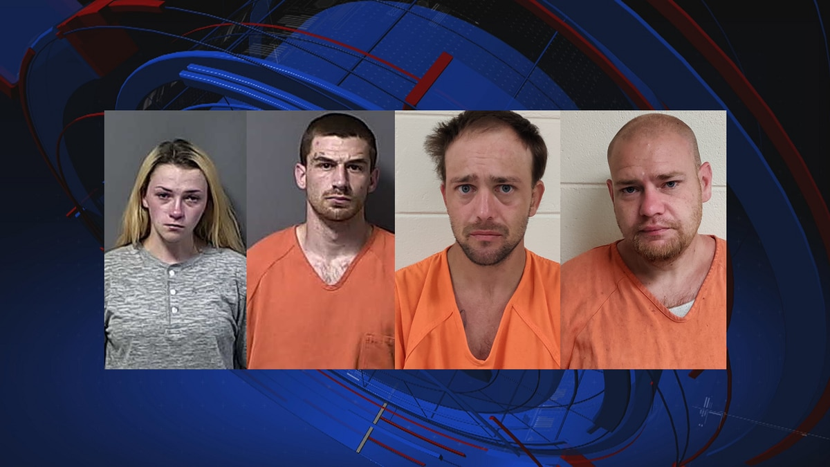 Six days after the robbery, four suspects were arrested: Alexis Popkins, Nicholas LeMaster,...
