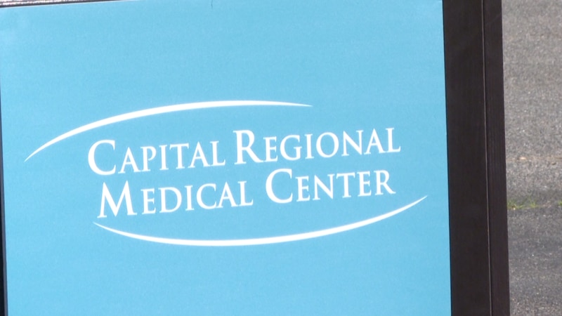 Shovels hit the ground outside Capital Regional Medical Center Wednesday at the soon-to-be the...