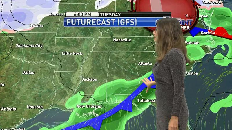 Meteorologist Hannah Messier has your Saturday, January 23rd forecast.