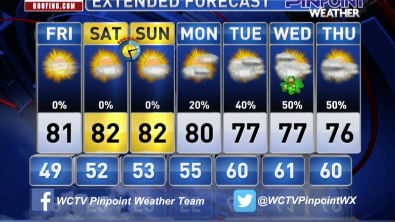 Chief Meteorologist Mike McCall takes a look at the forecast for your evening of Thursday,...