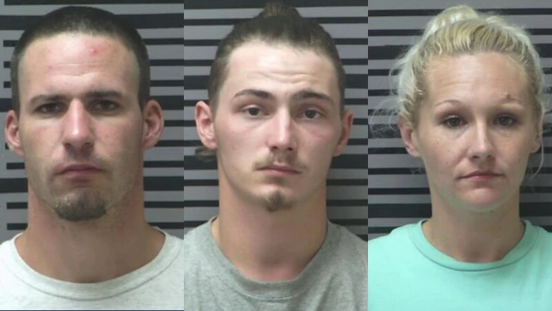 Three people are under arrest in connection with a man found dead this summer in Coolidge.