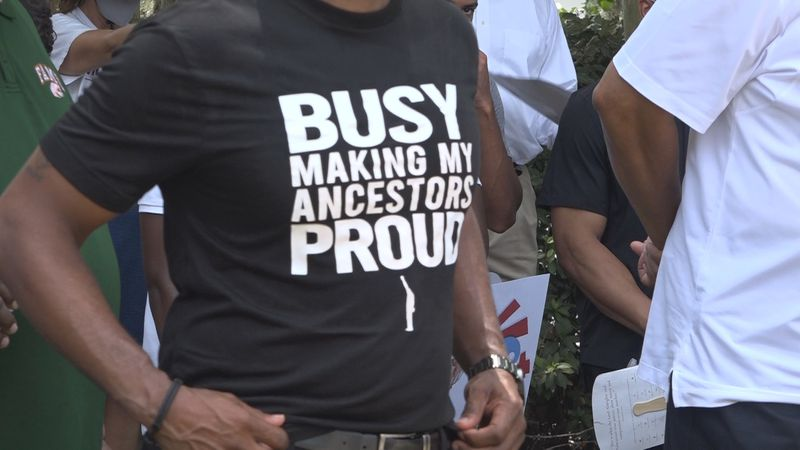 Souls to the Polls march leads to the Leon County Courthouse