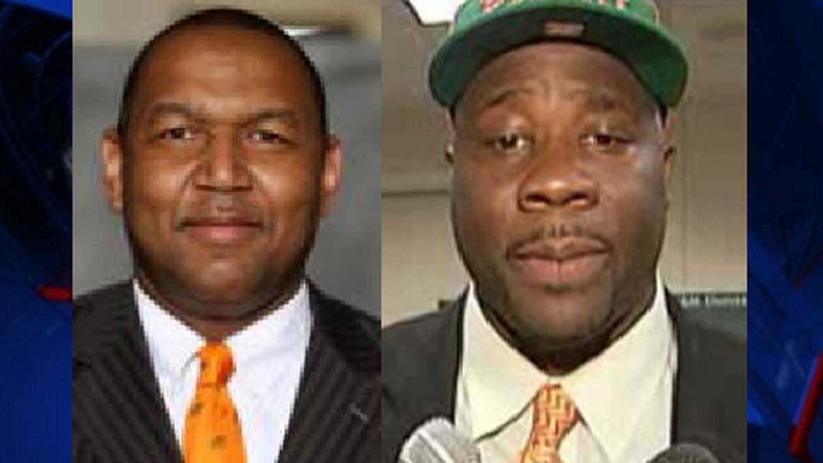 Clemon Johnson and Earl Holmes (Photo: FAMU Athletics / File )