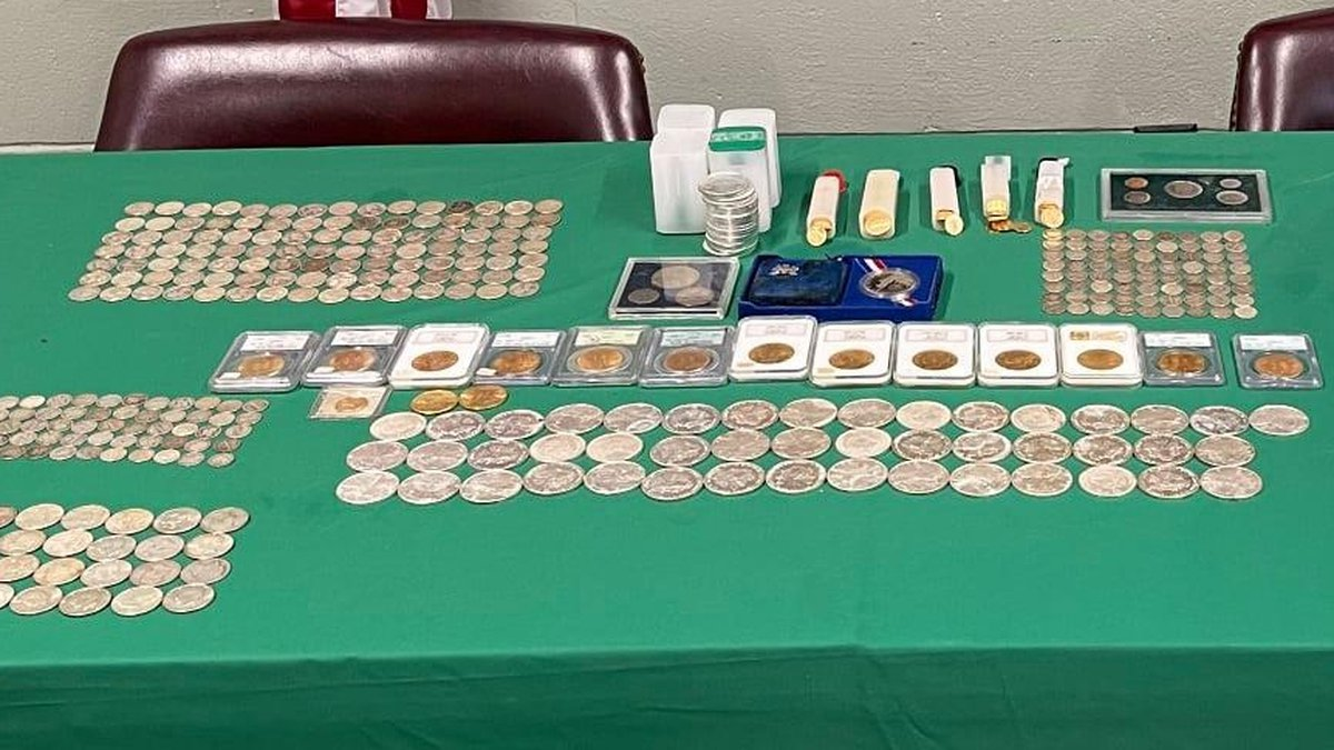 Liberty County sheriff's deputies say they've recovered $300,000 in rare silver and gold coins...