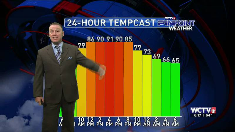 Meteorologist Rob Nucatola gives you the forecast for Monday, May 24, 2021.