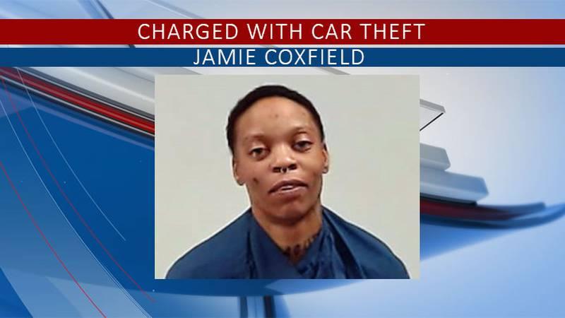 Coxfield was taken to jail