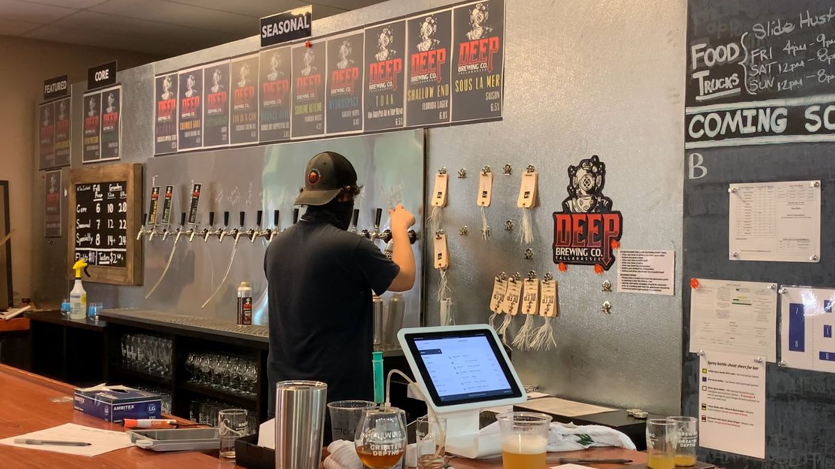 Breweries and bars don't know when they'll be able to open again