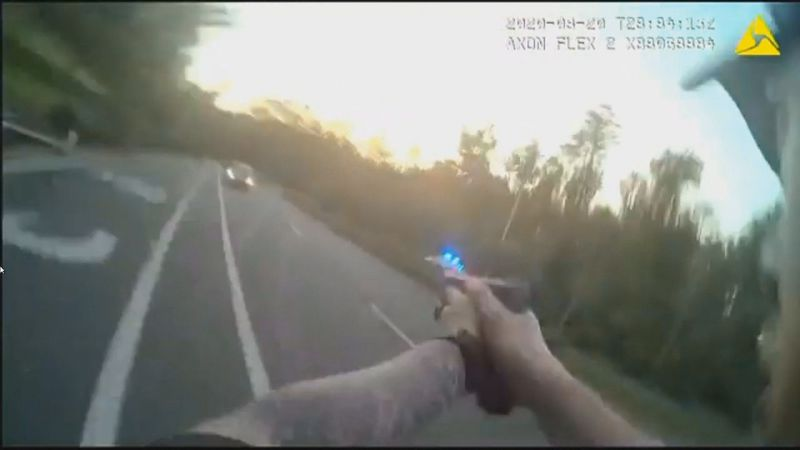 The City of Tallahassee released body camera footage of three fatal officer-involved shootings...
