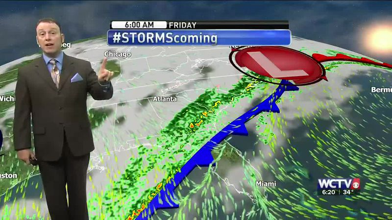 Meteorologist Rob Nucatola gives you the forecast for Wednesday, Feb. 17, 2021.