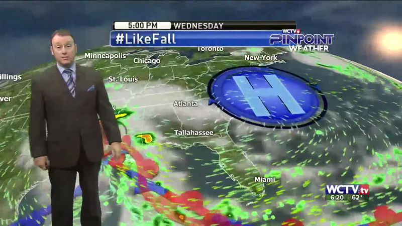 Meteorologist Rob Nucatola gives you the forecast for Tuesday, Sept. 22, 2020.