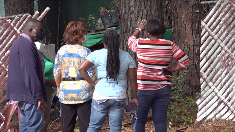 A Tallahassee is family counting their blessing after a fallen power line sparked a house fire...